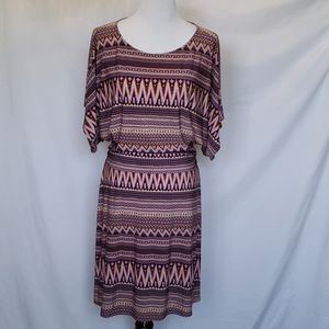 BCBGMAXAZRIA PLum Pink Cream Dress